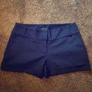 Blue Maurices dress shorts